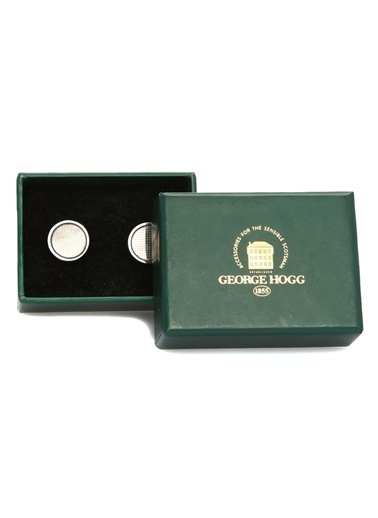 George Hogg Kol Düğmesi Gümüş